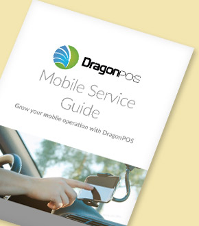 DragonPOS Mobile Service Guide Brochure