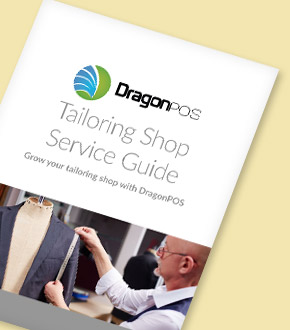DragonPOS Tailoring Shop Guide Brochure